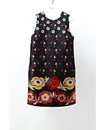 RED VALENTINO - BROCADE DRESS